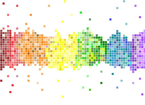 pixel-rainbow